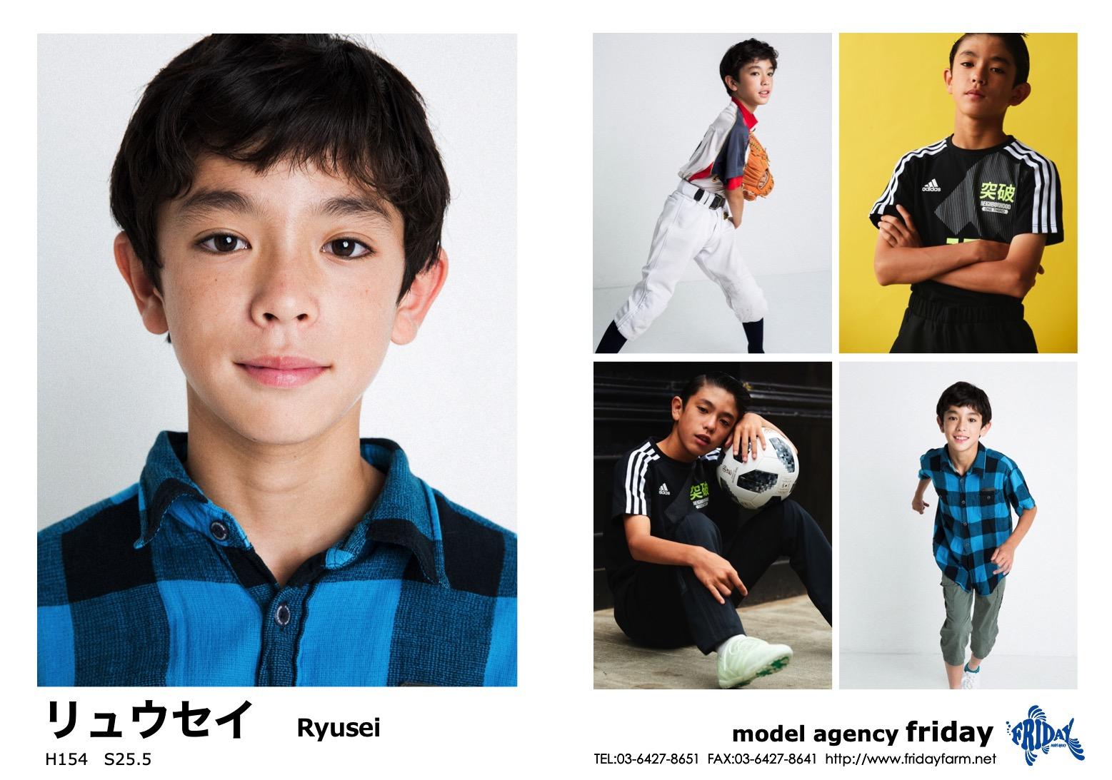 リュウセイ - Ryusei | model agency friday