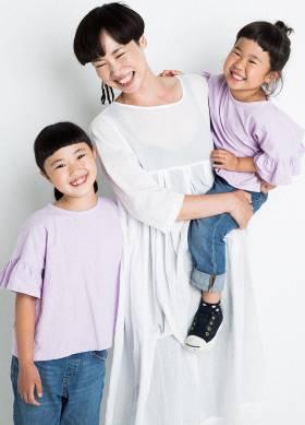 上本ファミリー - Uemoto Family   model agency friday