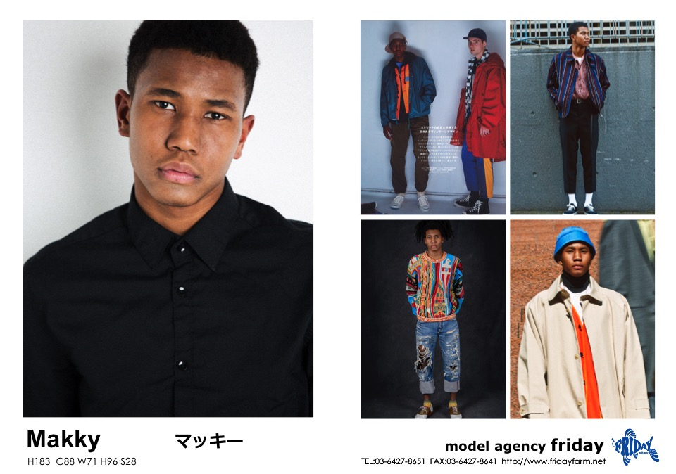 Makky - マッキー | model agency friday