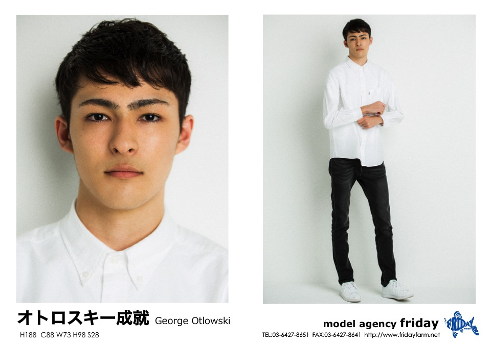 オトロスキー 成就 - George Otlowski | model agency friday