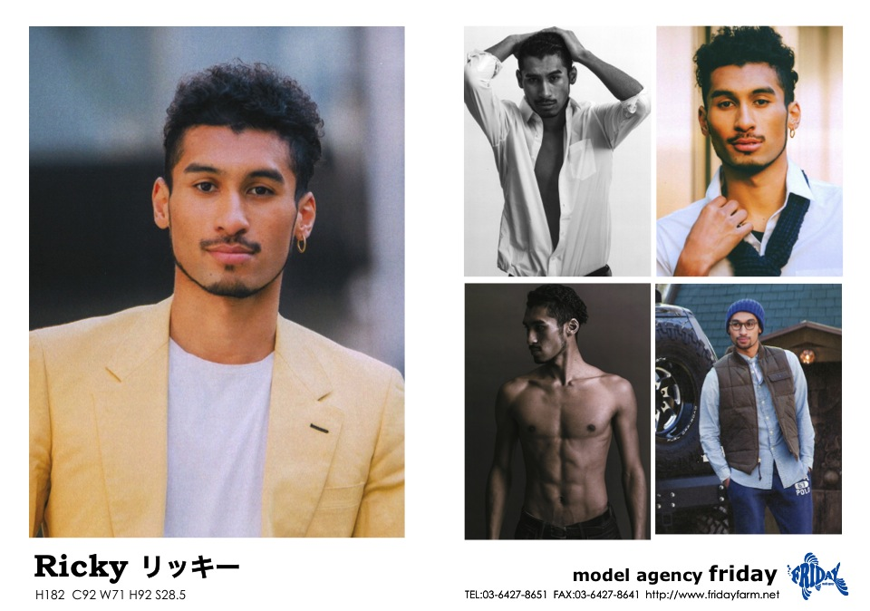 Ricky - Ricky | model agency friday