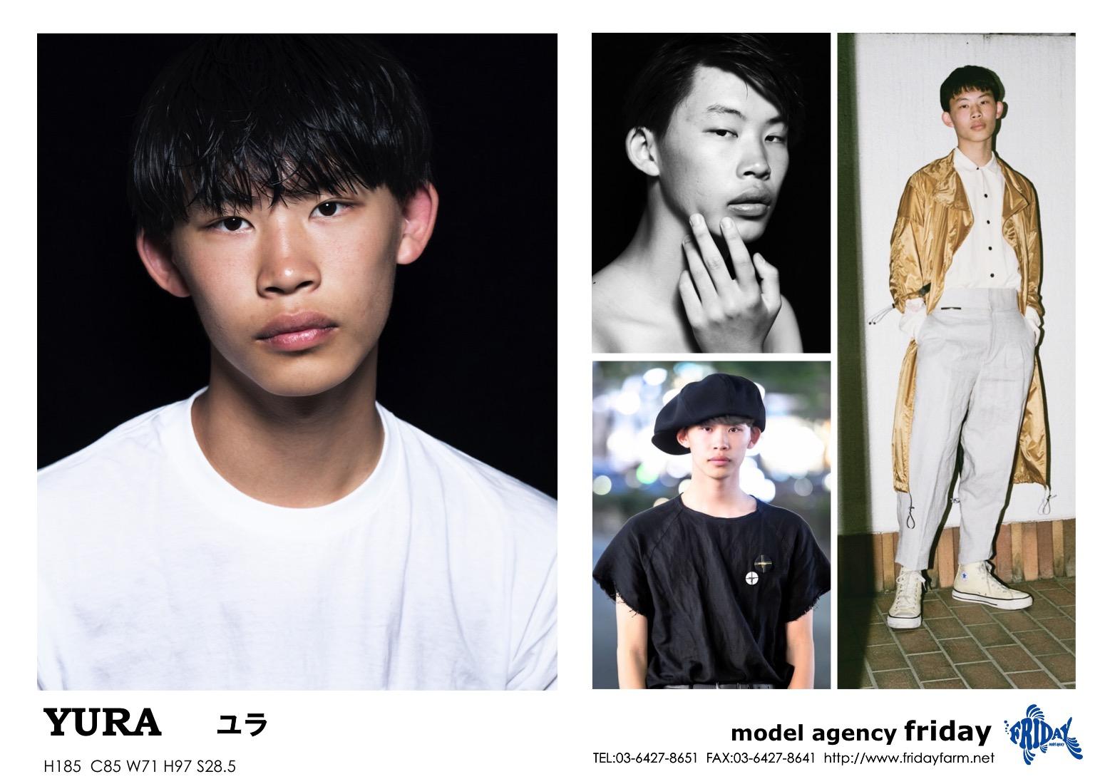 YURA - ユラ | model agency friday