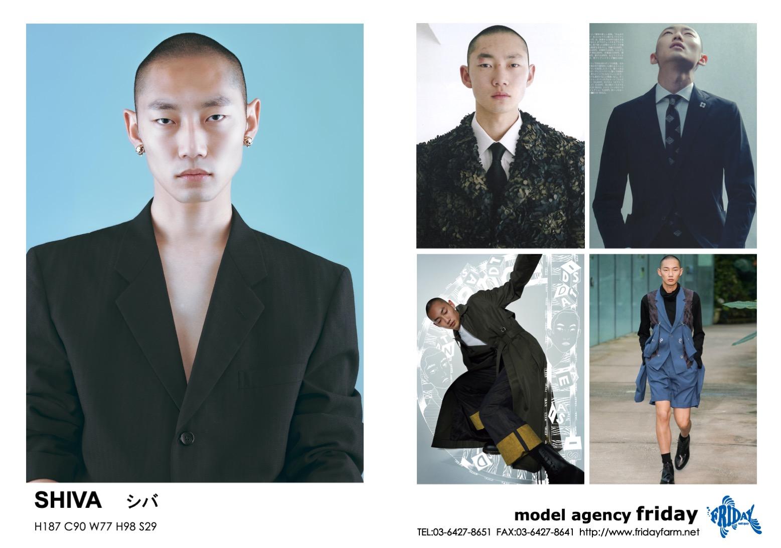 SHIVA - シヴァ   model agency friday
