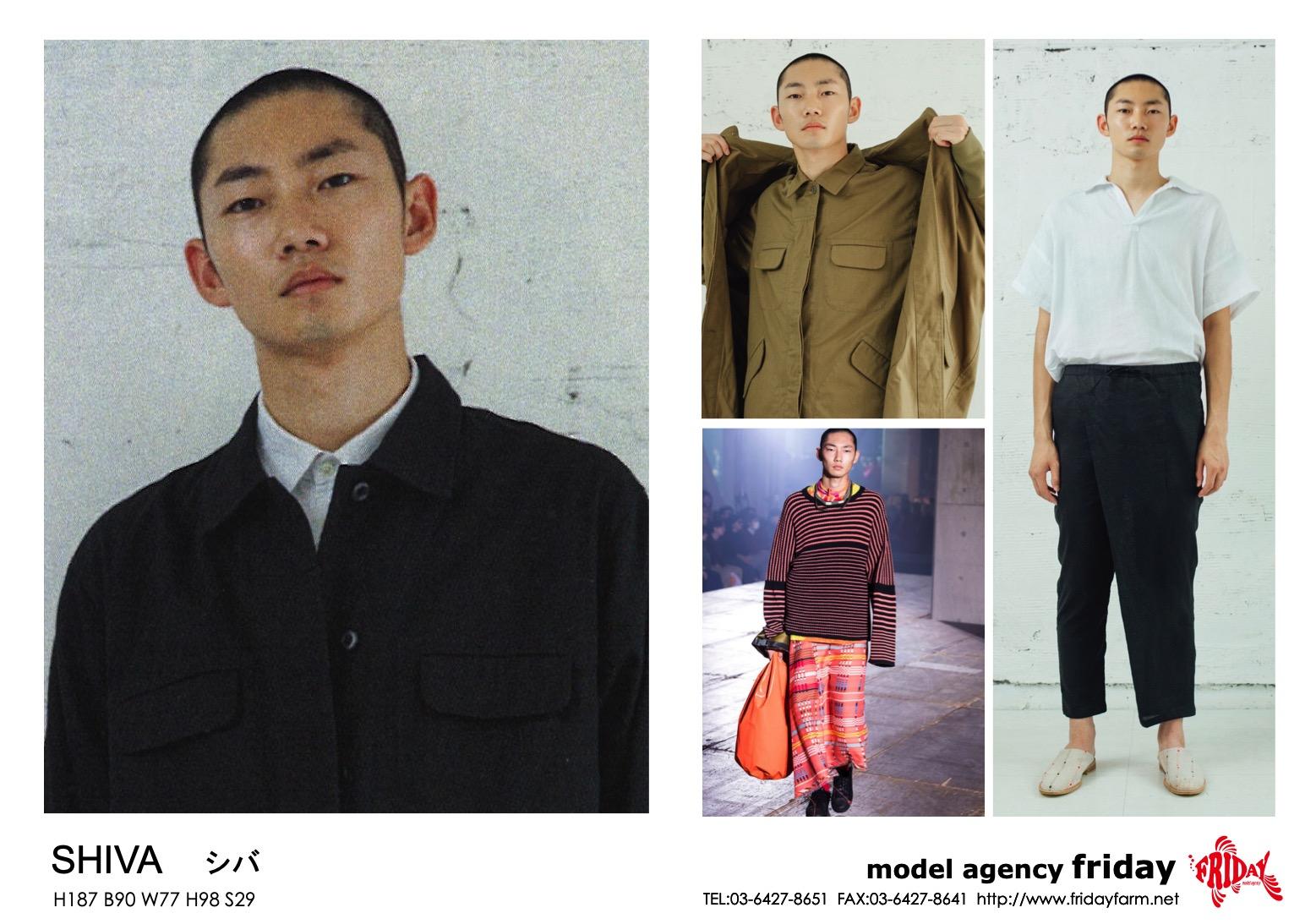 SHIVA - シヴァ | model agency friday