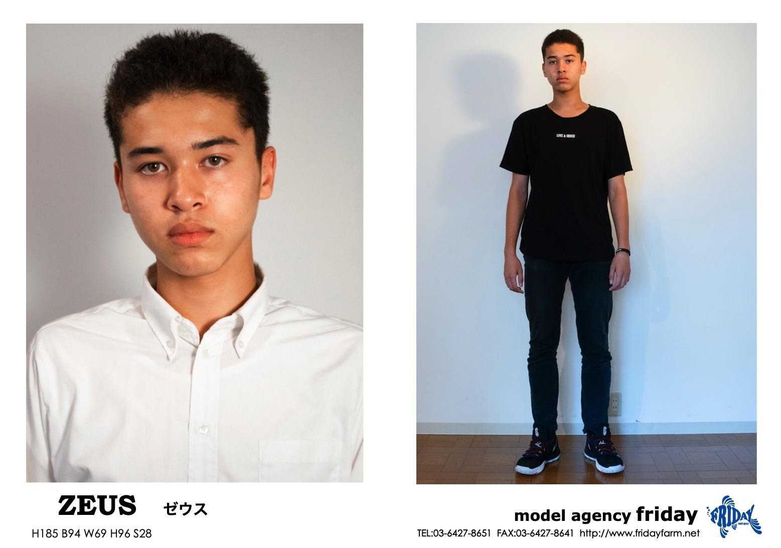 Zeus - ゼウス | model agency friday