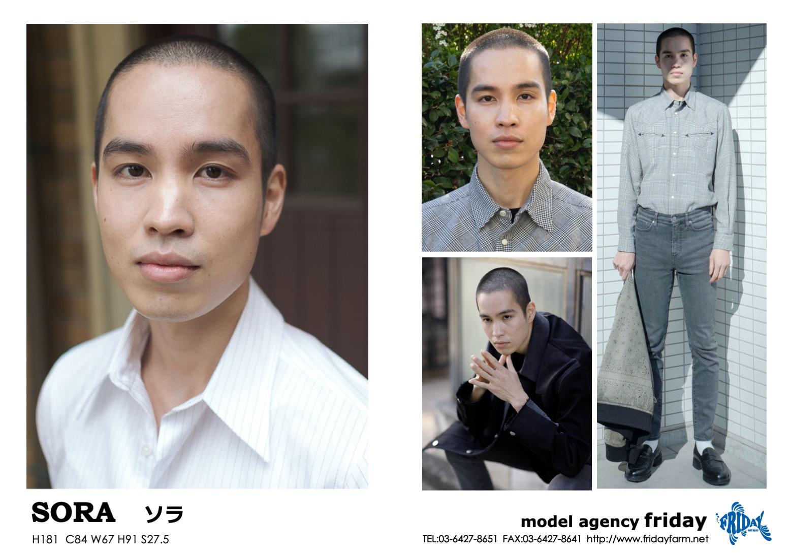 SORA - ソラ   model agency friday
