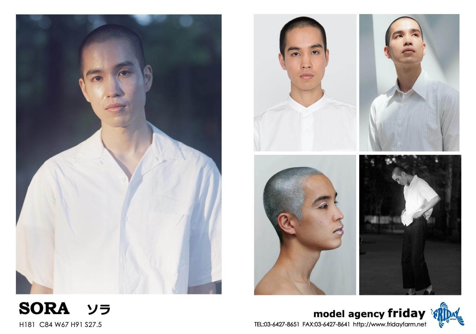 SORA - ソラ | model agency friday