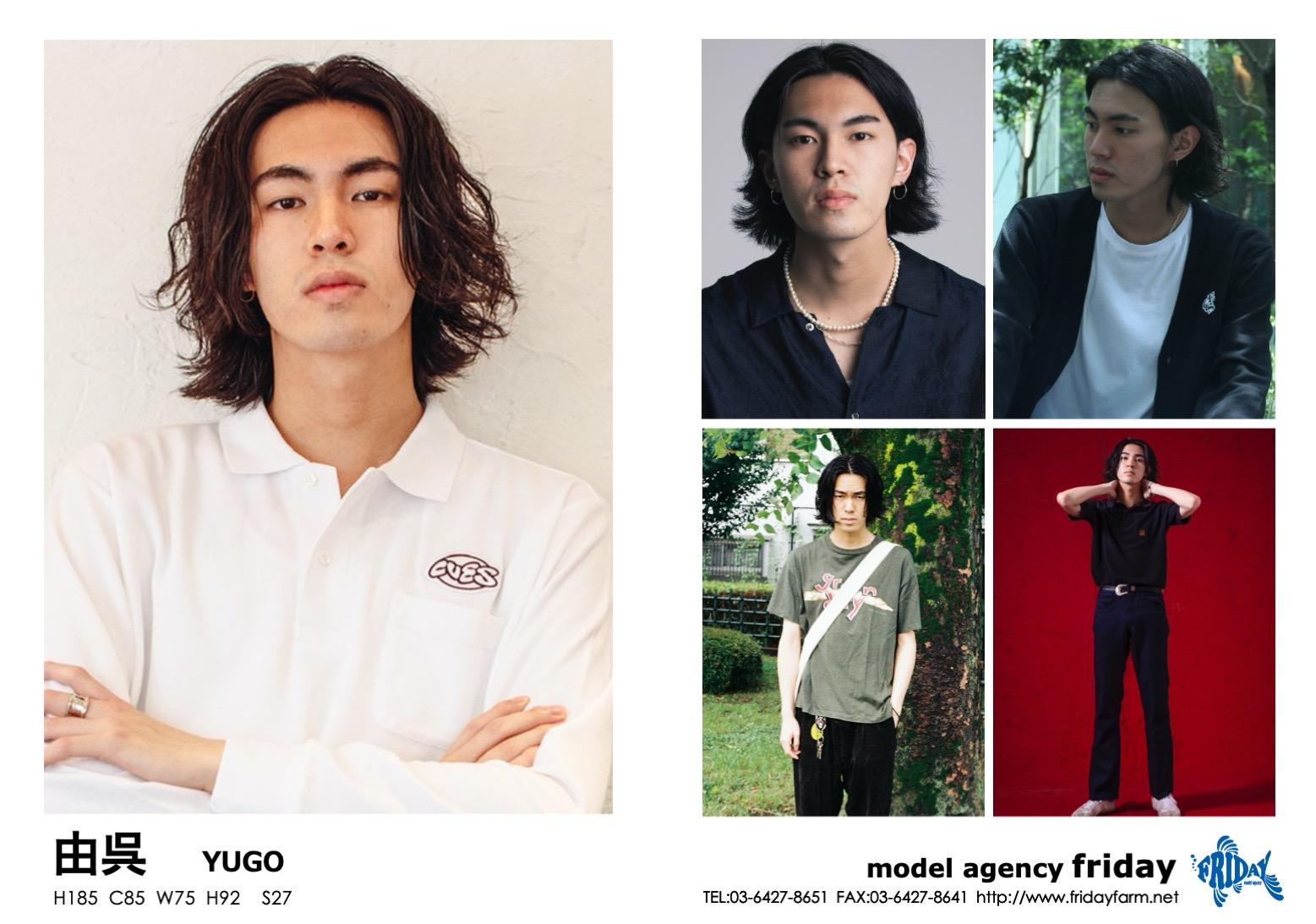 由呉 - YUGO | model agency friday