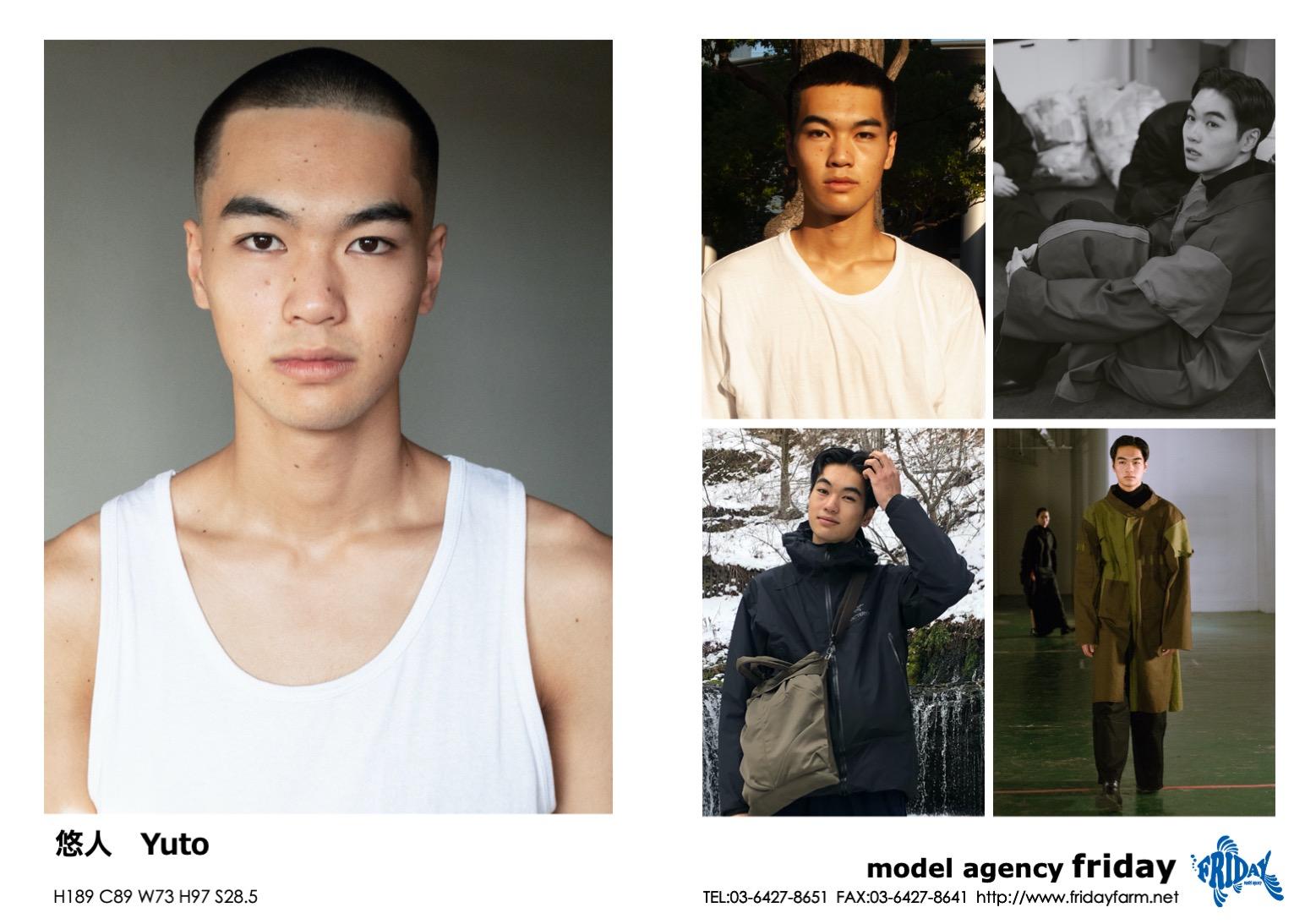 悠人 - Yuto | model agency friday